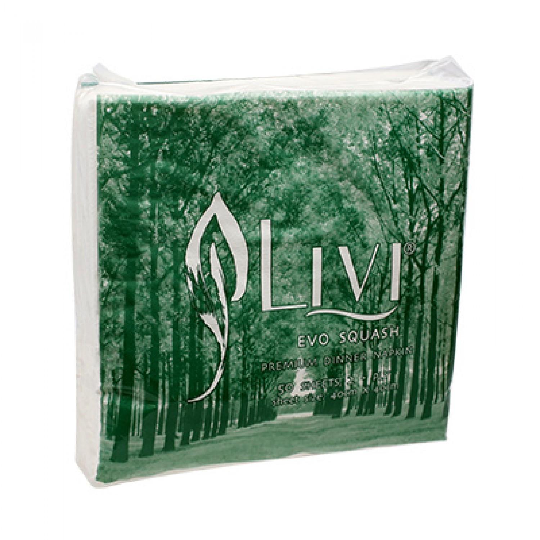 Tissue Napkin - Livi Evo Squash Premium 7532 - tissueku - tissueku